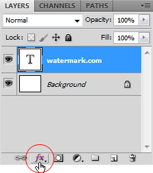 Membuat Watermark dengan Brush di Photoshop