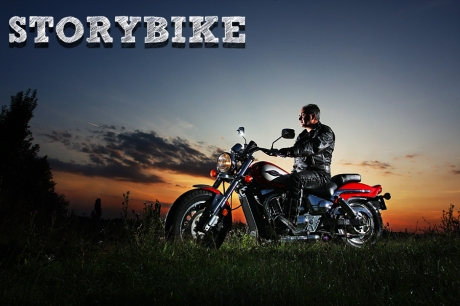 sunset_motor_biker_by_54ka